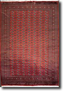 Bokhara-Mori-9013-Rust Hand-Knotted Area Rug