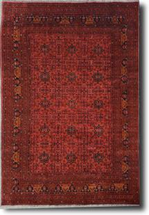 Khal Mohammedi-KZT-69-Red Hand-Knotted Area Rug