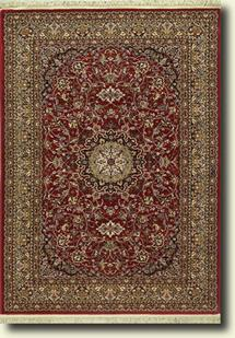 Tashkent-111R-Red Machine-Made Area Rug