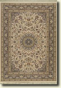 Tashkent-111W-Ivory Machine-Made Area Rug