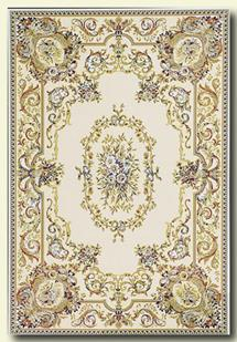 Tashkent-50W-Ivory Machine-Made Area Rug