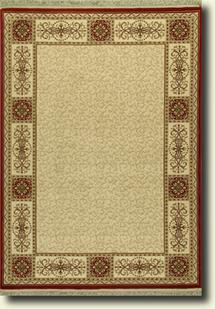 Tashkent-51W-Ivory Machine-Made Area Rug