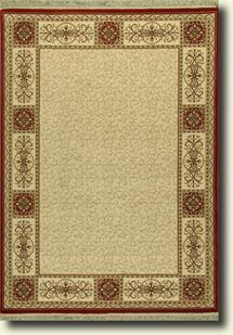 Tashkent 111w ivory machine made area rug alexanian for Alexanian area rugs