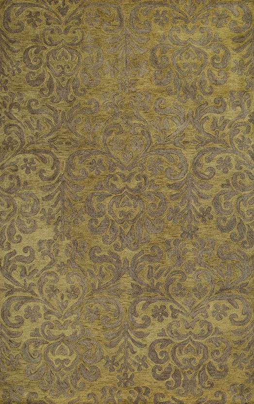 Filigree CP-9225-200-Citron Hand-Tufted Area Rug
