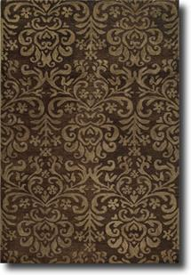 Filigree CP-9225-750-Espresso Hand-Tufted Area Rug