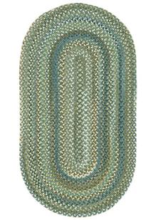 American Legacy Oval-0210-280-Pine Forest Braided Area Rug