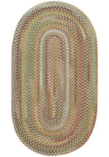 American Legacy Oval-0210-910-Tuscan Braided Area Rug