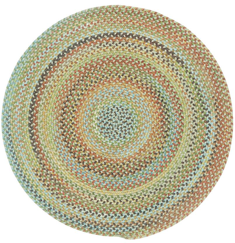 American Legacy Oval-0210-910-Tuscan Round Braided Area Rug detail