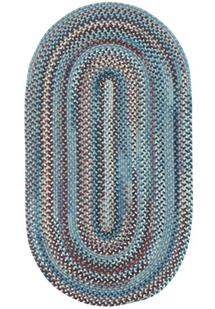 American Legacy Oval-0210-425-Old Glory Braided Area Rug