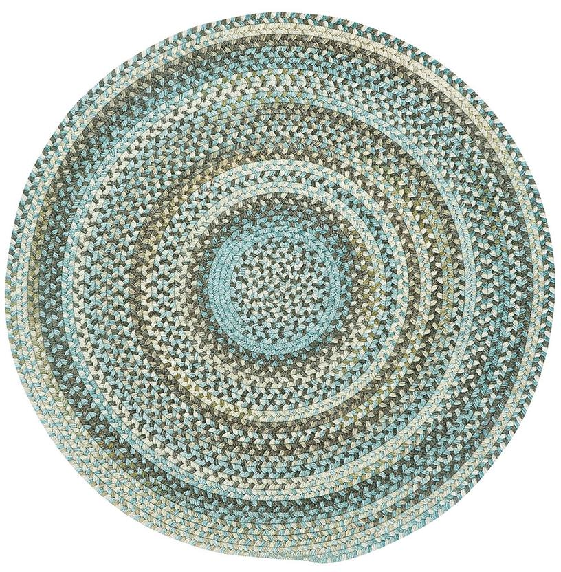 American Legacy Oval-0210-700-Prairie Round Braided Area Rug detail
