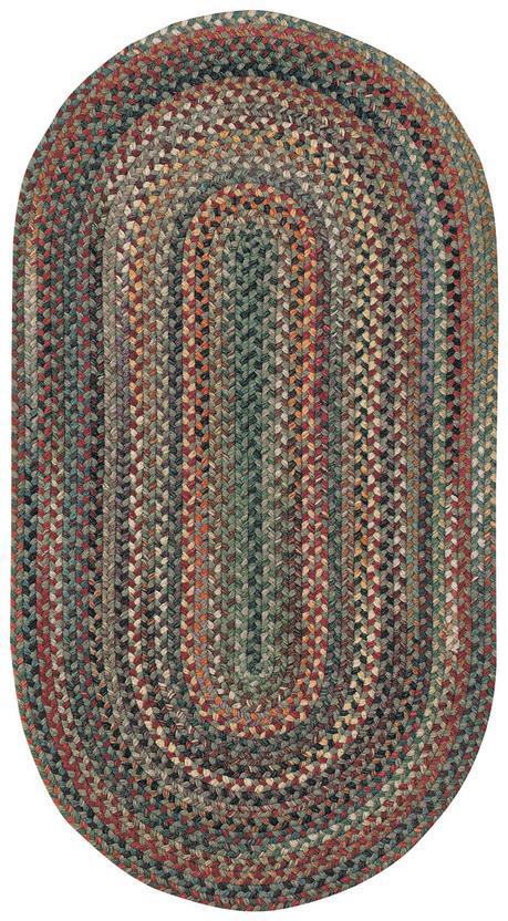 980 225 Sage Braided Area Rug