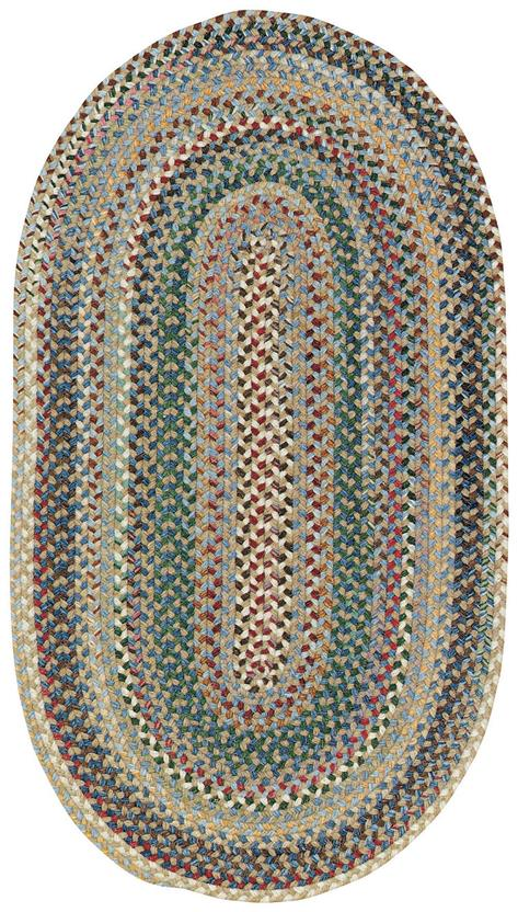 Bear Creek Oval-980-400-Misty Blue Braided Area Rug