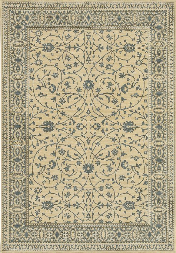English Manor-2120-540 Machine-Made Area Rug