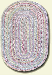 Cutting Garden Oval-0450-440-Bluebell Braided Area Rug