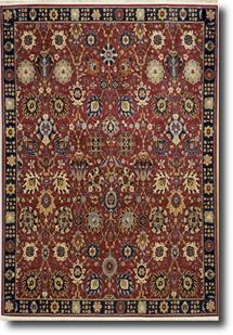 English Manor-2120-502 Machine-Made Area Rug