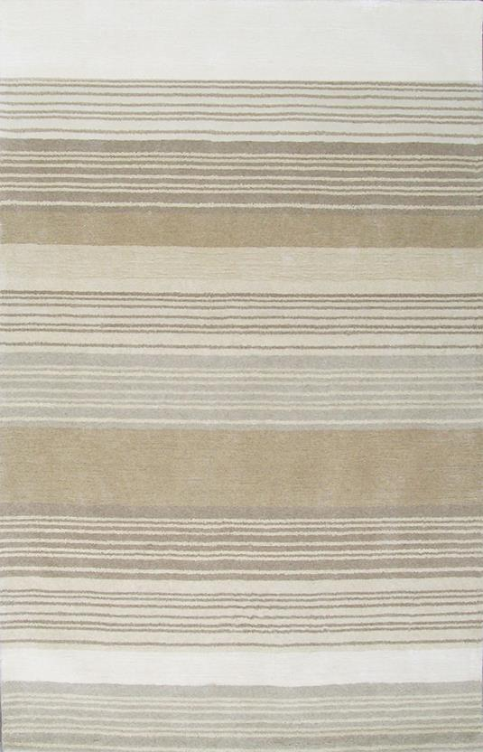 Abacus-Stripe-Multi Hand-Tufted Area Rug