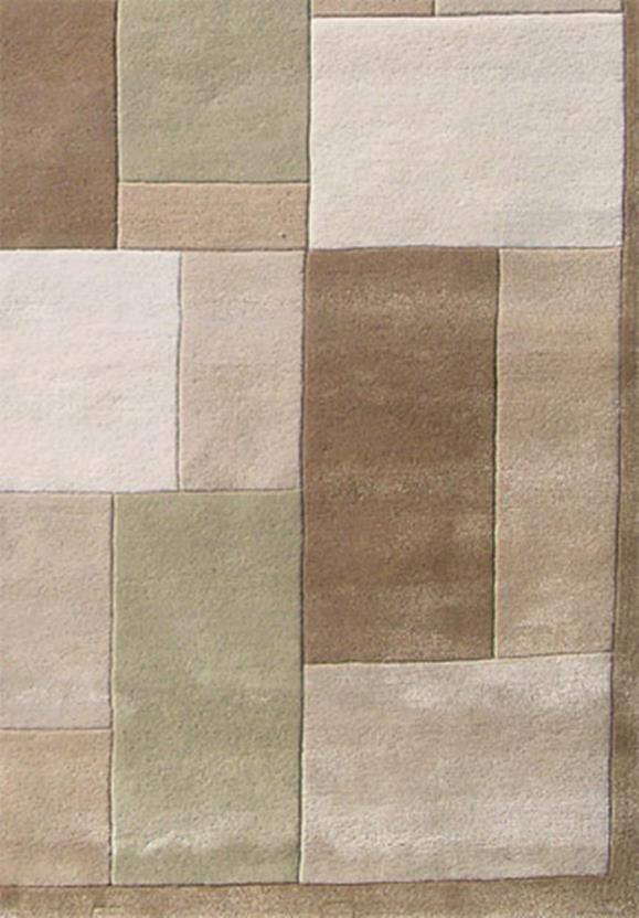 Cashmere 220 Beige Brown Hand Tufted Area Rug