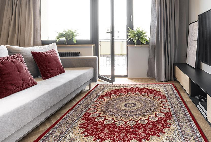 Agra SD-57090-1484 Room Lifestyle Machine-Made Area Rug detail
