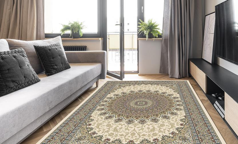 Agra SD-57090-6484 Room Lifestyle Machine-Made Area Rug detail