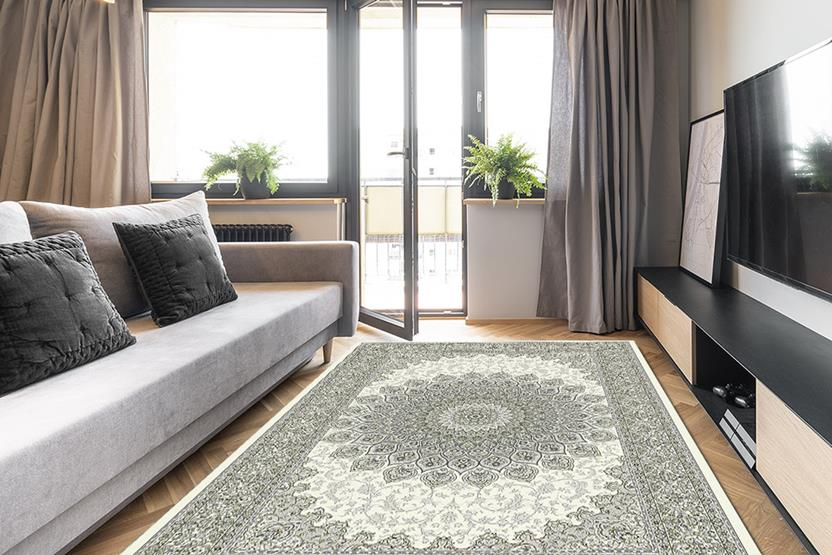 Agra SD-57090-6666 Room Lifestyle Machine-Made Area Rug detail