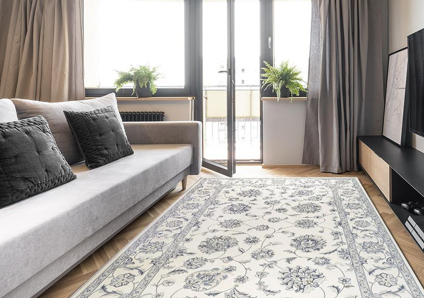 Agra SD-57365-6666 Room Lifestyle Machine-Made Area Rug detail