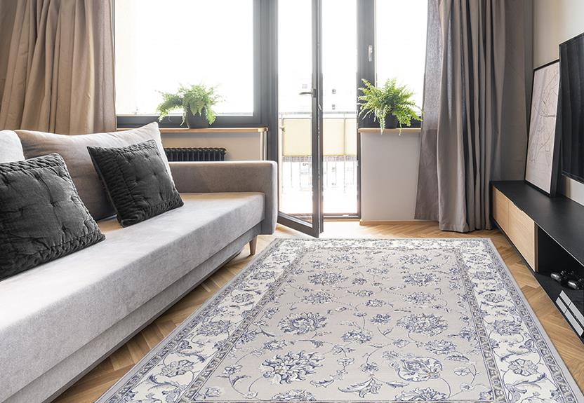 Agra SD-57365-9666 Room Lifestyle Machine-Made Area Rug detail