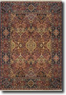 English Manor-2120-504 Machine-Made Area Rug