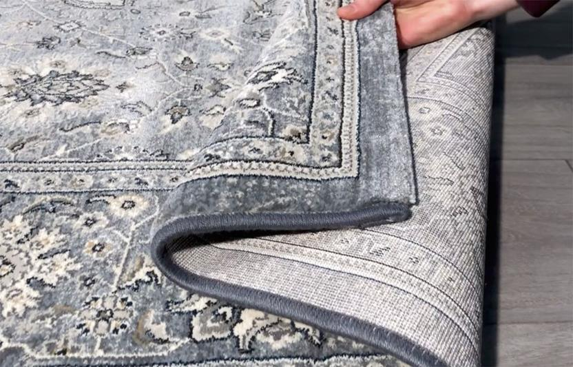 Agra SD-57125-4646 Machine-Made Area Rug collection texture detail