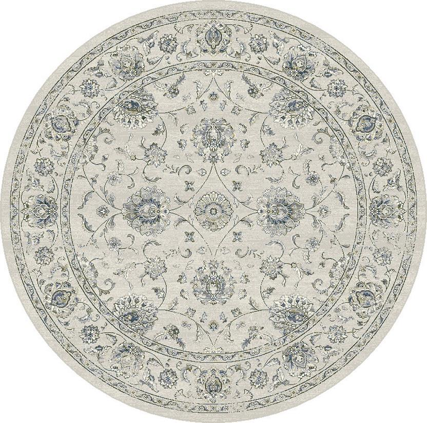 Agra SD-57126-6666 Round Machine-Made Area Rug detail