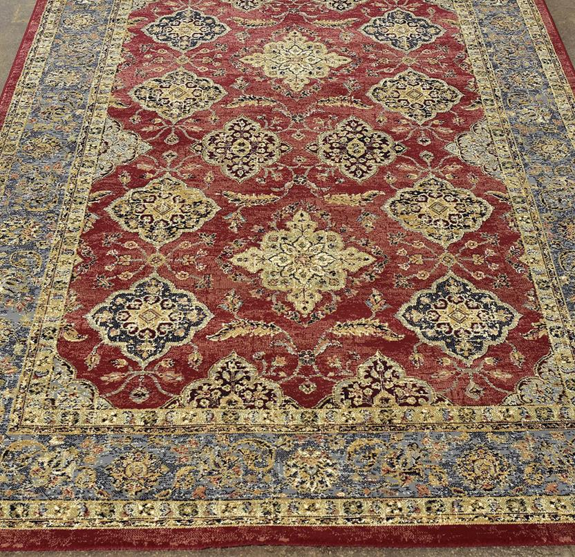 Agra SD-57163-1454 Machine-Made Area Rug collection texture detail