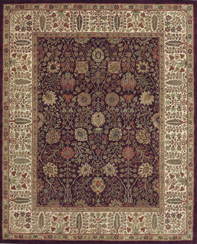 Italian Plum Hand Tufted Area Rug