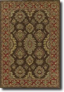 Khazana-6579-Coffee-51 Hand-Tufted Area Rug