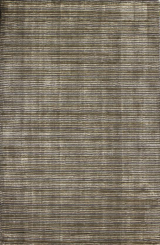 Alfanso-Stripe-Blue Hand-Tufted Area Rug