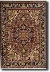 English Manor-2120-501 Machine-Made Area Rug