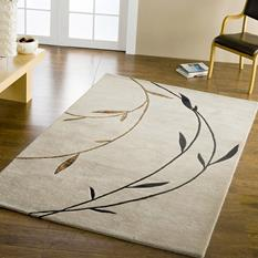 Artisan Studio-Japan-80043-Linen Room Lifestyle Hand-Tufted Area Rug detail