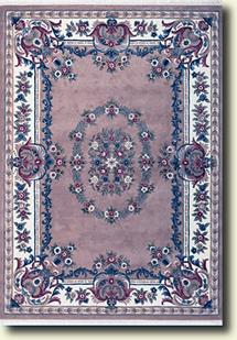 Ajmir-381-Beige White Hand-Tufted Area Rug