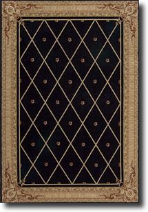 Ashton House-AS03-BLK Machine-Made Area Rug