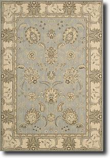 Persian Empire-PE22-AQU Machine-Made Area Rug