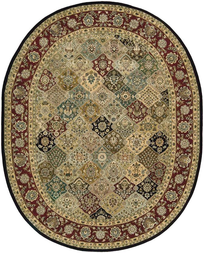 Nourison 2000-2101-MTC Oval Hand-Tufted Area Rug detail
