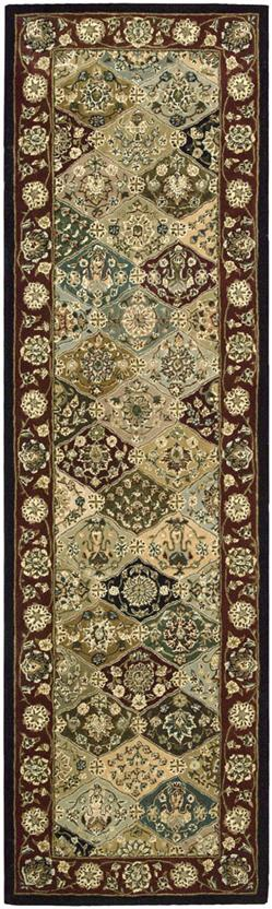 Nourison 2000-2101-MTC Runner Hand-Tufted Area Rug detail
