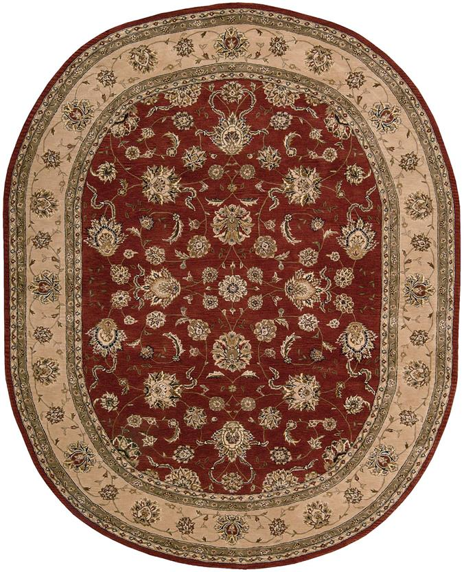 Nourison 2000-2203-BRK Oval Hand-Tufted Area Rug detail