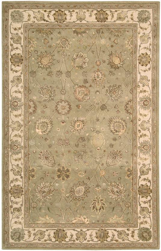 Nourison 3000 3105 ltg hand tufted area rug for Alexanian area rugs