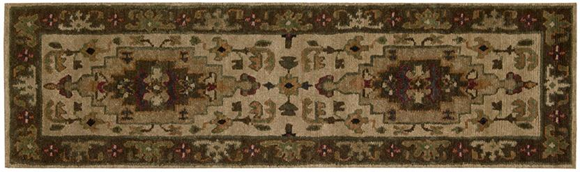 Tahoe-TA01-BGE Runner Hand-Knotted Area Rug detail