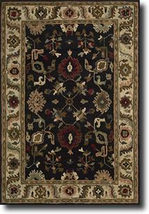 Tahoe-TA08-BLK Hand-Knotted Area Rug