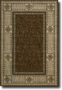 Vallencierre-VA27-BRN Machine-Made Area Rug