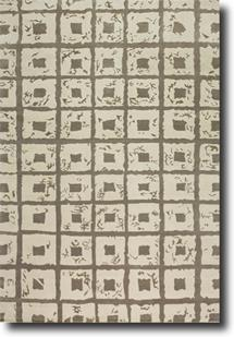 Classic Collection-CF63-Off White/Grey  Hand-Knotted Area Rug