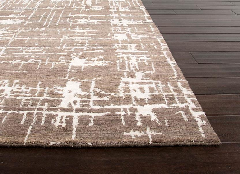 Geode Ge01 Dk Grey Hand Knotted Area Rug Alexanian