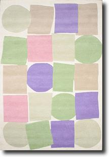 Artisan Family-Kaleido-0071K-Multi Hand-Tufted Area Rug