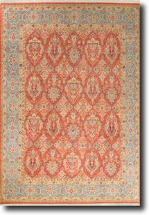 Biscayne-BS17-Picante Larkspur Hand-Knotted Area Rug