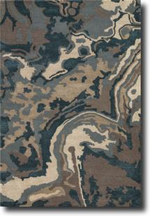 Blue-BL137-Driftwood Dark Slate Hand-Tufted Area Rug